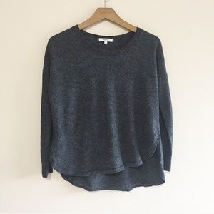 Madewell Wool High Low Sweater